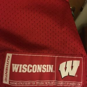 Wisconsin Badgers Football Jersey Nwt